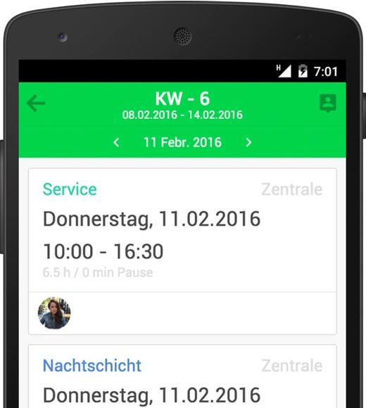shyftplan für Android