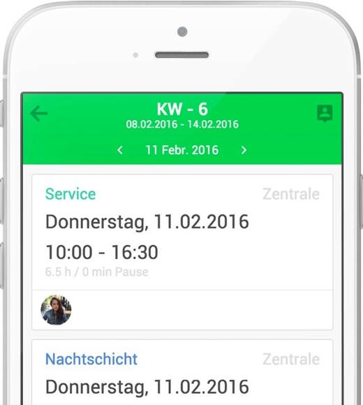 shyftplan für iOS